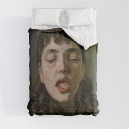 GORGON'S HEAD - WILHELM TRUEBNER Comforters