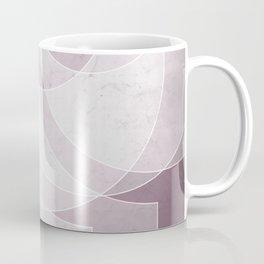 Orbiting Lace in Musk Mauve Tones Coffee Mug