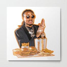 Popeyes and Rapper Metal Print