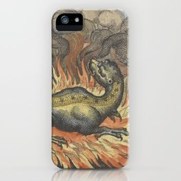 Fire Salamander iPhone Case