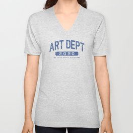 ART DEPT GOO 1 ATHLETIC Unisex V-Neck