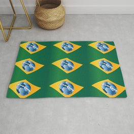 soccer - football ball Rug