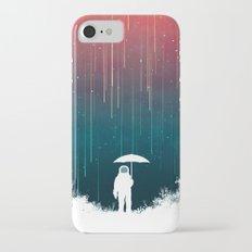 Meteoric rainfall iPhone 7 Slim Case