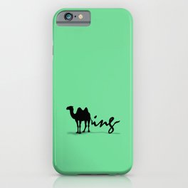 Green Humping iPhone Case