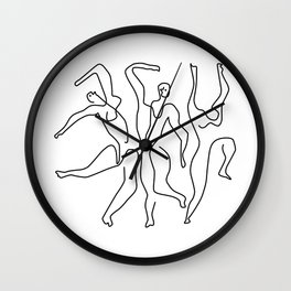 Picasso - the dancers,Picasso Art Wall Clock