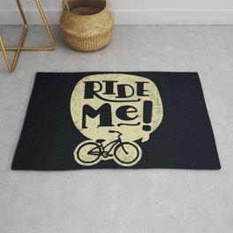 Ride Me Bicycle Rug