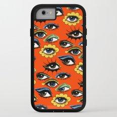 60s Eye Pattern iPhone 7 Adventure Case