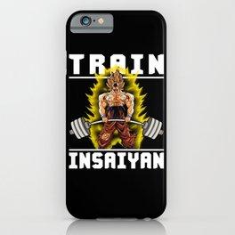 TRAIN INSAIYAN (Goku Deadlift) iPhone Case