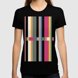 Geometric Glitch T-shirt
