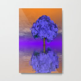 just a fancy tree -202- Metal Print