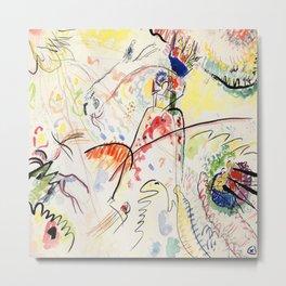 Wassily Kandinsky Small Pleasures Metal Print