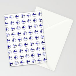 Flag of Finland 5 -finnish, Suomi, Sami,Finn,Helsinki,Tampere Stationery Cards