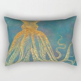 Deep Sea Life Octopus Rectangular Pillow