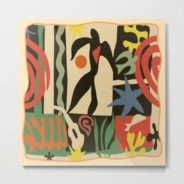 Inspired to Matisse vintage t-shirt Metal Print