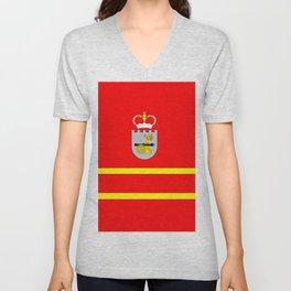 flag of Smolensk Unisex V-Neck