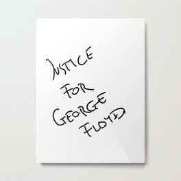 George Floyd Metal Print