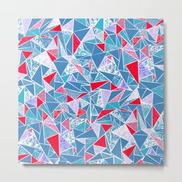 TRIANGLE GEOMETRIC 2 Metal Print