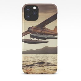 Flying in the Sunset iPhone Case