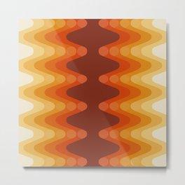 Sonic Wave Pattern 222 Metal Print