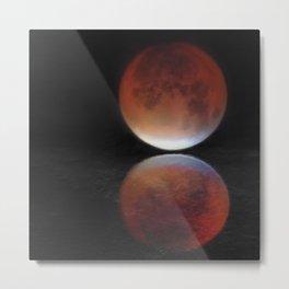Super blood moon Metal Print