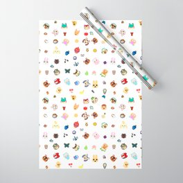 animal crossing pattern Wrapping Paper