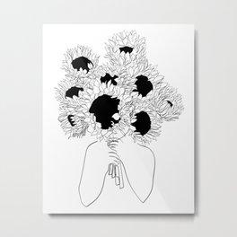 Hide Away Metal Print