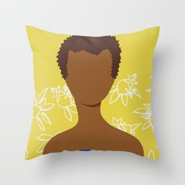 Cultivated and Zesty No 06 Throw Pillow