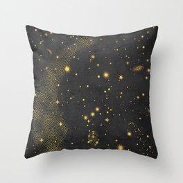 Orion Belt Constellation Throw Pillow