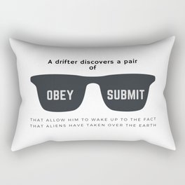 They Live Rectangular Pillow