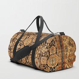 Antique Persian Malayer Rug Print Duffle Bag