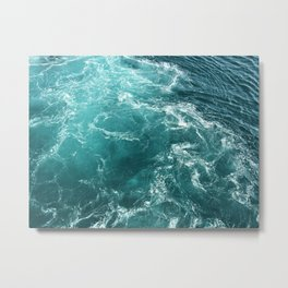 Dancing Seas Metal Print