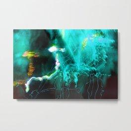 Beneath the Astral Ocean Metal Print