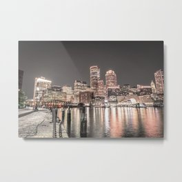 Boston City III Metal Print