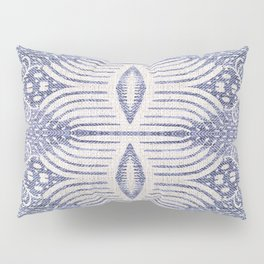 FRENCH LINEN TRIBAL IKAT Pillow Sham