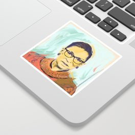 What Would RBG Do (2/6) Sticker