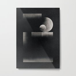 Silver ratio Metal Print