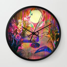 Invisible Unity Wall Clock