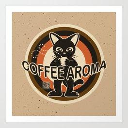 Coffee aroma Art Print