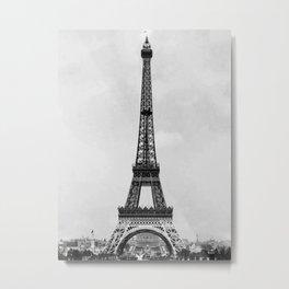 Eiffel tower 2- in 1900 Metal Print
