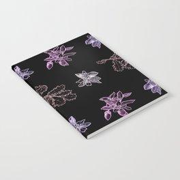 Quercus (black, purple) Notebook