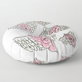 FLYING VULVAS Floor Pillow