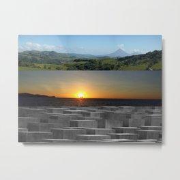 The Landscape Metal Print
