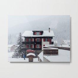 Saas-fee, Switzerland Metal Print