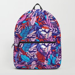 Colorful floral pattern 2 Backpack