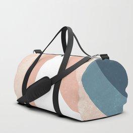 70s Rainbow Duffle Bag