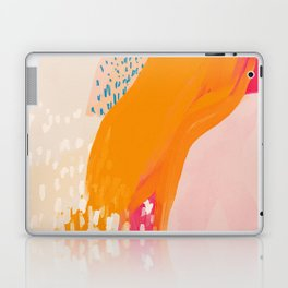 The Abstract Shape Of Spring Laptop & iPad Skin