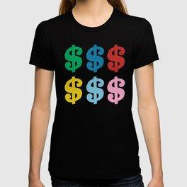 Colourful Money T-shirt