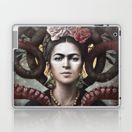 Hommage a Frida 5 Laptop & iPad Skin