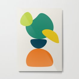 Abstract No.10 Metal Print