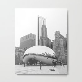 The Chicago Bean #2 Metal Print